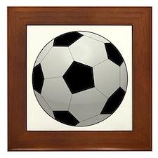 Soccer Ball Framed Tile