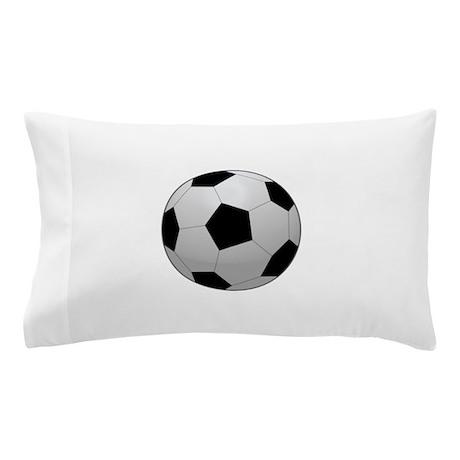 Squishy Soccer Ball Pillow : Soccer Ball Pillow Case by RGebbiePhoto