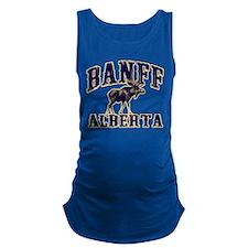 Banff Moose.png Maternity Tank Top