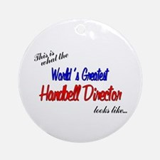 World's Greatest Director Ornament (Round)