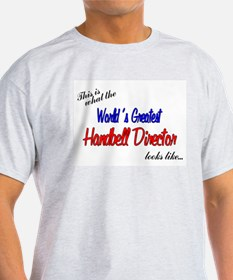 World's Greatest Director Ash Grey T-Shirt