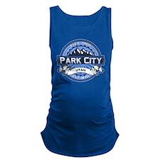 Park City Blue Maternity Tank Top