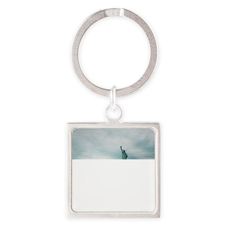 Statue of Liberty Square Keychain