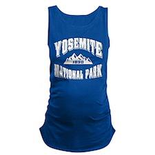 Yosemite Old Style Black.png Maternity Tank Top