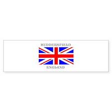 Huddersfield England Car Sticker