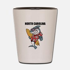 North Carolina Shot Glass