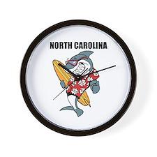 North Carolina Wall Clock