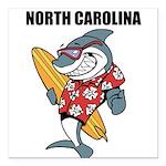 North Carolina Square Car Magnet 3