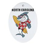 North Carolina Ornament (Oval)