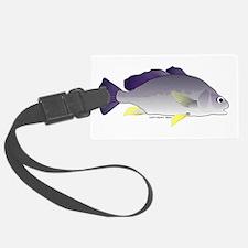 Freshwater Drum fish (aka Sheephead) Luggage Tag