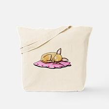 Sleeping Belleza Tote Bag