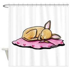 Sleeping Belleza Shower Curtain