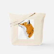 Fox Profile Tote Bag