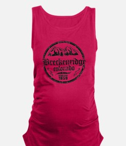 Breck Circle 2 Black.png Maternity Tank Top