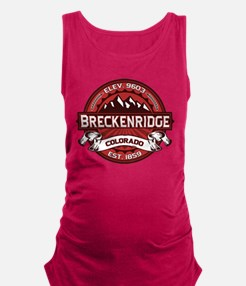 Breckenridge Red.png Maternity Tank Top