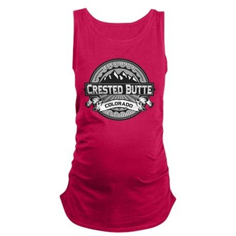 Crested Butte Grey.png Maternity Tank Top