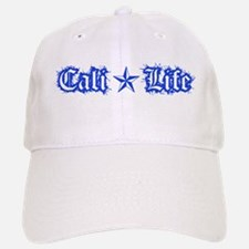 cali life 1a blue Baseball Baseball Baseball Cap