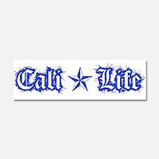 cali life 1a blue Car Magnet 10 x 3