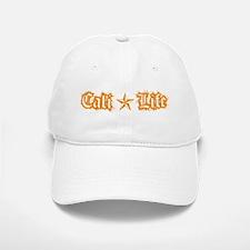 cali life 1a orange Baseball Baseball Baseball Cap
