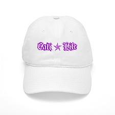 cali life 1a purple Baseball Baseball Cap