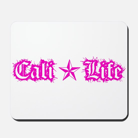 cali life 1a pink Mousepad