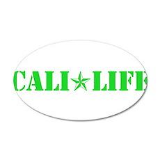 cali life 1b green Wall Decal