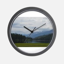 Hume Lake Wall Clock