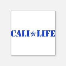 cali life 1b blue Sticker