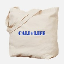 cali life 1b blue Tote Bag