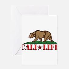 cali life 3b Greeting Card