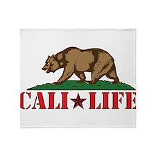 cali life 3b Throw Blanket