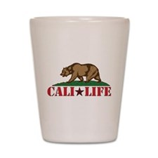 cali life 3b Shot Glass