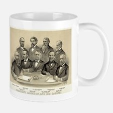 President Harrison and his cabinet - 1889 Mug