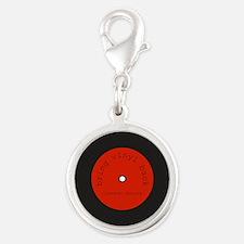 Bring Vinyl Back | Silver Round Charm