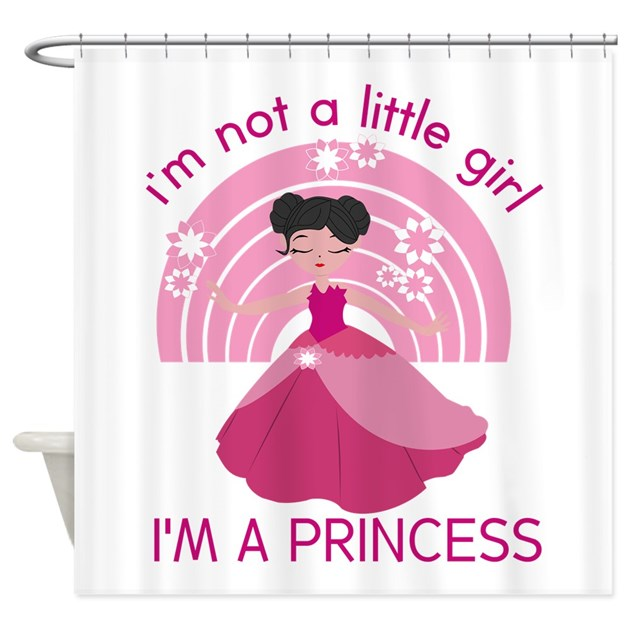 Princess Little Girl Shower Curtain By Bimbykids