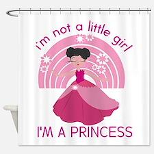 Princess Little Girl Shower Curtain
