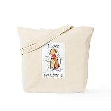 I Love My Coonie Tote Bag