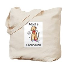 Adopt a Coonhound Tote Bag