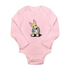 Portuguese Podengo Pequeno Long Sleeve Infant Body