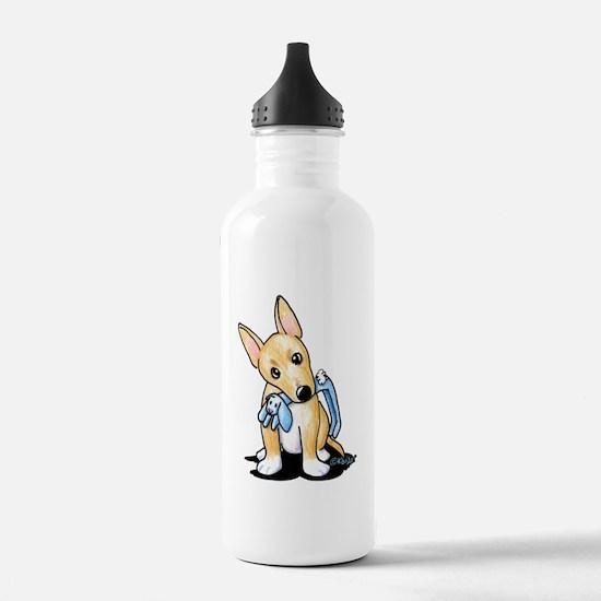Portuguese Podengo Pequeno Sports Water Bottle
