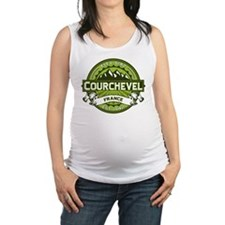 Courchevel Green.png Maternity Tank Top