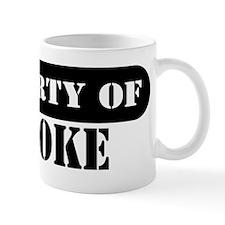 Property of Brooke Mug