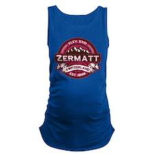 Zermatt Logo Raspberry.png Maternity Tank Top