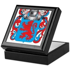 Avila Coat of Arms Keepsake Box