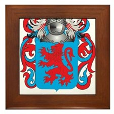 Avila Coat of Arms Framed Tile