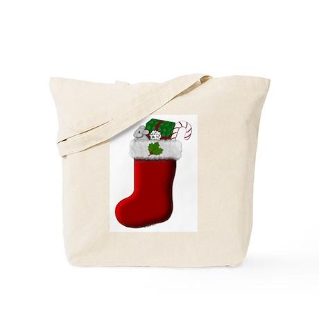 Filled Stocking Tote Bag