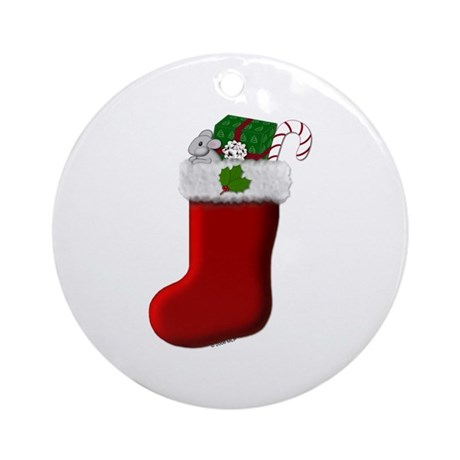 Filled Stocking Ornament (Round)