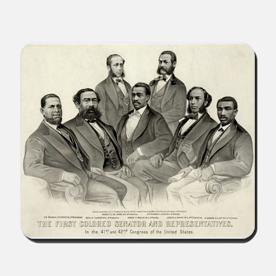 The first colored senator and representatives - 1