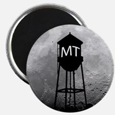 Party at the Moon Tower Magnet