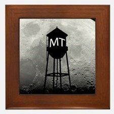 Party at the Moon Tower Framed Tile
